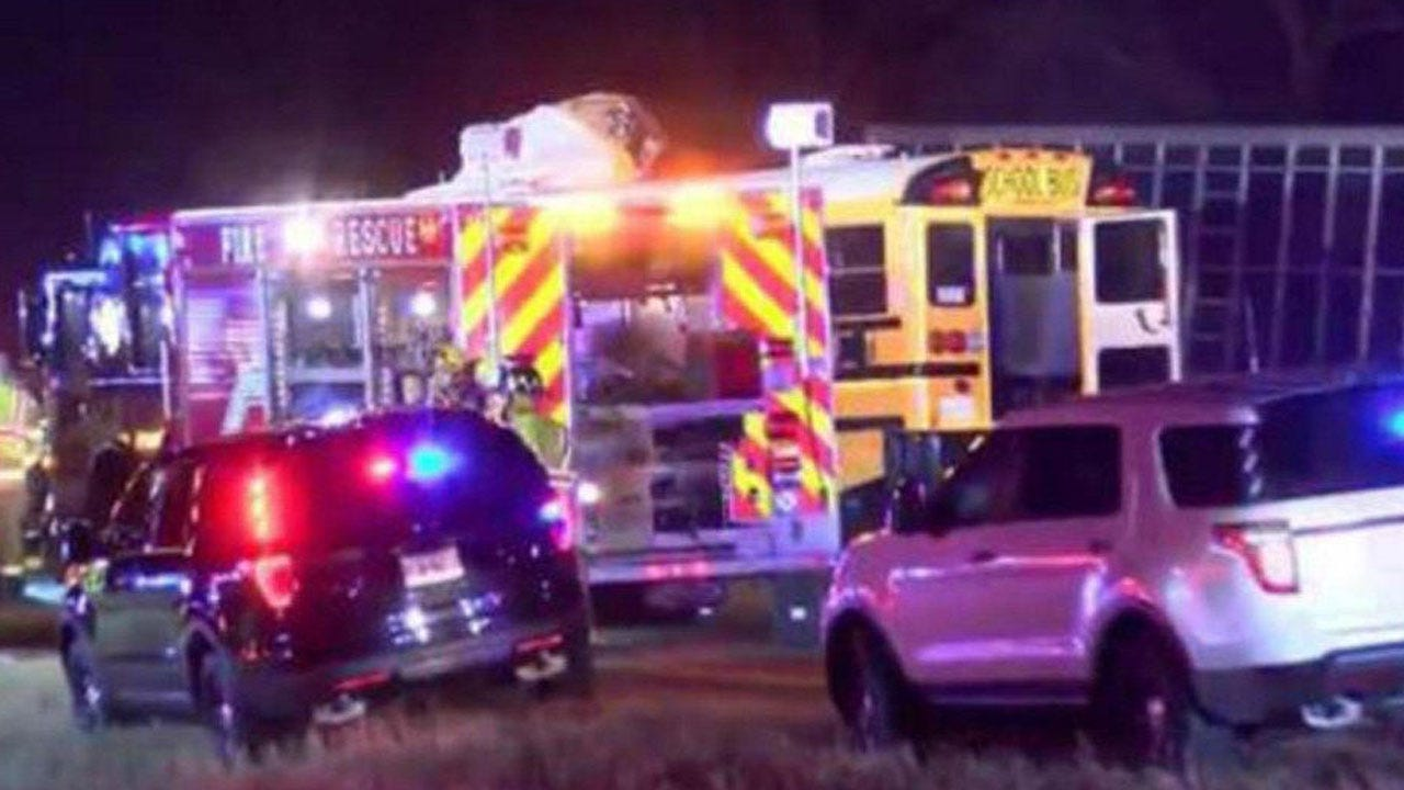 Bus Carrying Girls High School Team And Semi Hit Head-On, Killing At Least 2