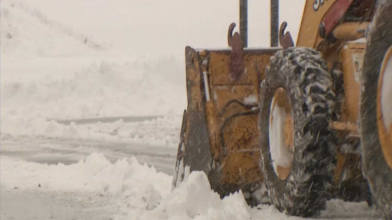 City Of OKC Shares Snow Route Plans Ahead Of Weekend Winter Weather