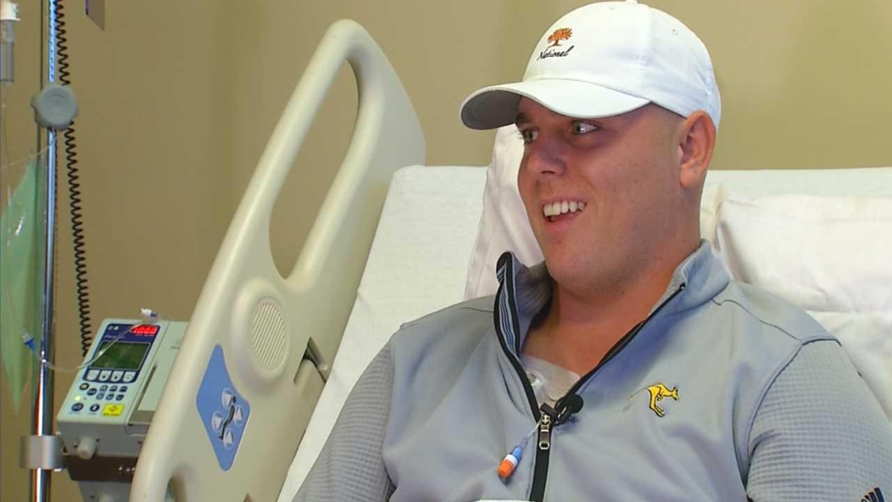 Edmond Golfer Says 9-Iron Saved His Life