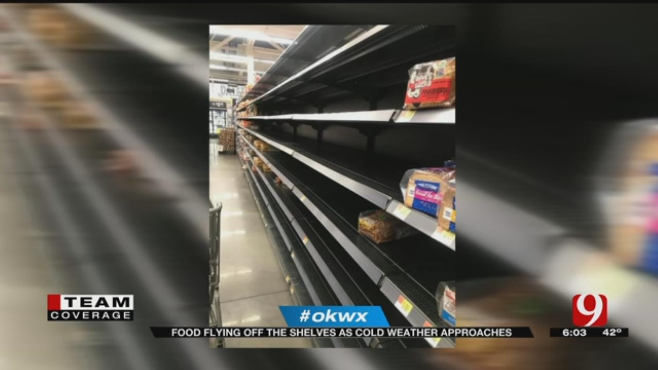 Local Grocery Stores Slammed Ahead Of Winter Weather