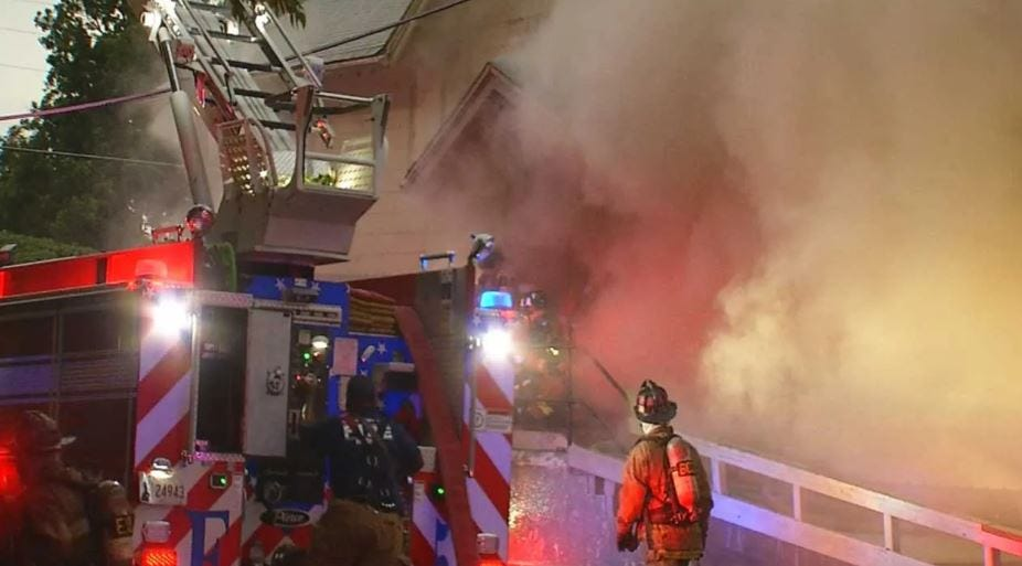 Winter Weather Sees Increase Of Vacant House Fires