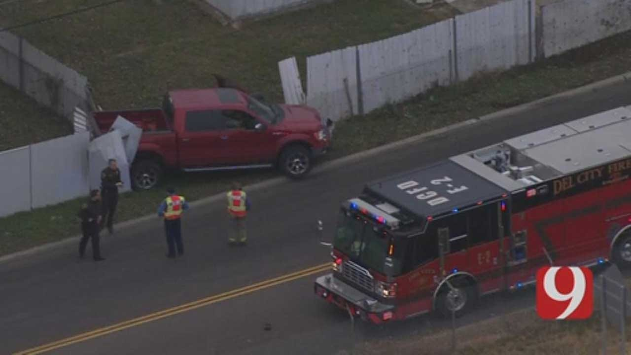 Police Detain 1 After Del City Chase
