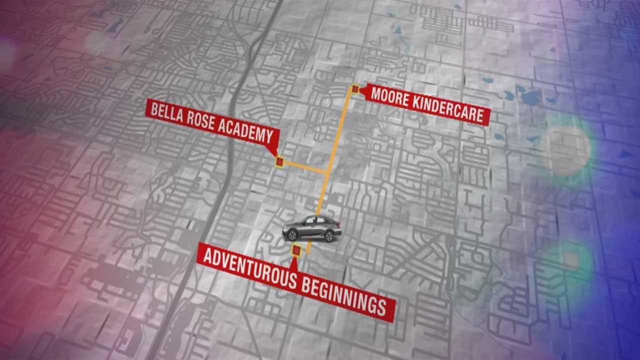 Police Investigating String Of Car Break-Ins At Moore Daycares