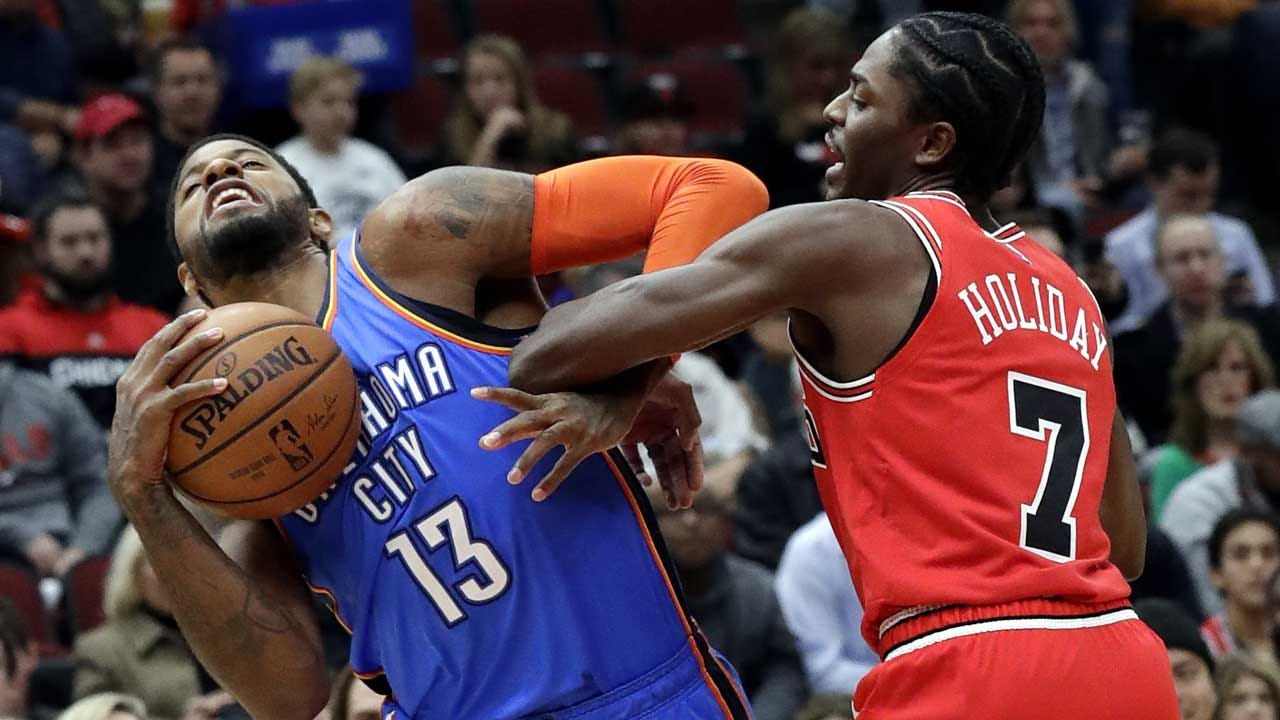 Thunder Ends Its Road Trip With 114-112 Loss To Bulls