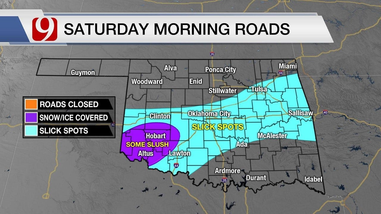 Wintry Precipitation Still Possible, Expected To Be Light