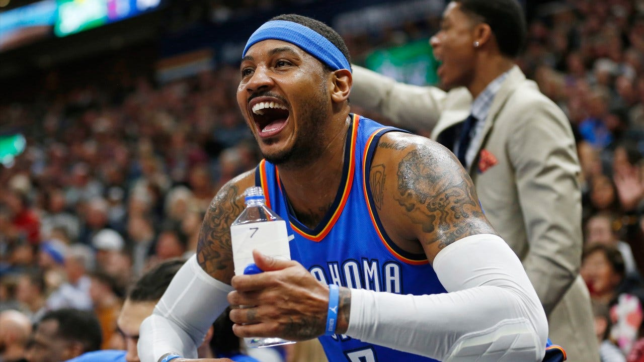 Report: Carmelo Anthony Traded To Atlanta Hawks In 3-Team Trade