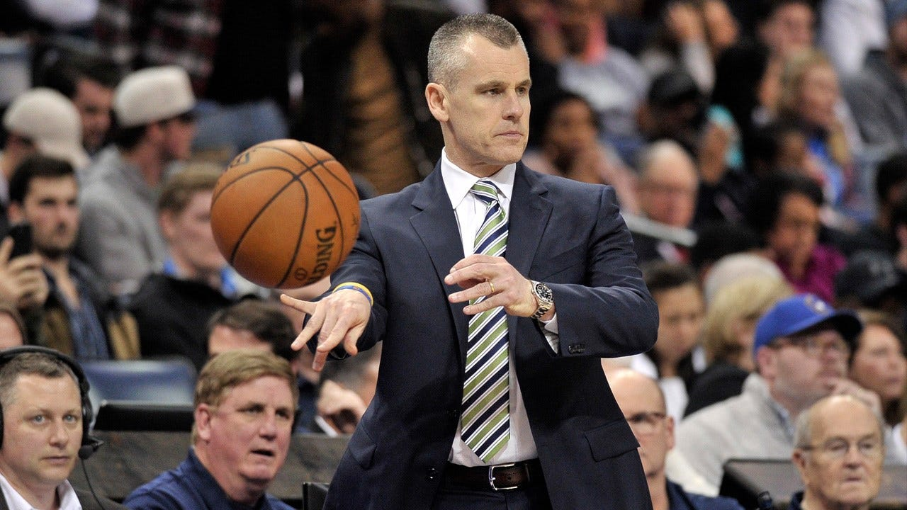 OKC Thunder Coach Billy Donovan Named Western Conference Coach Of The Month