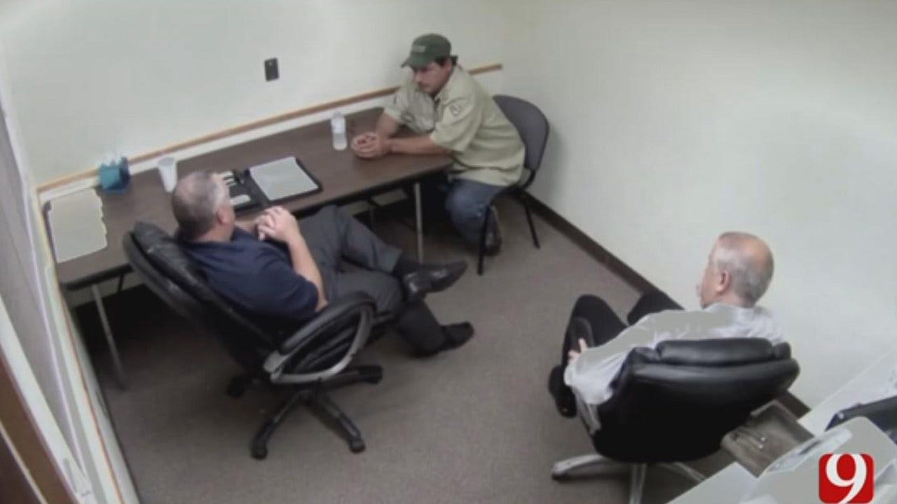 MWC Police Release Interrogation Video With Anthony Palma
