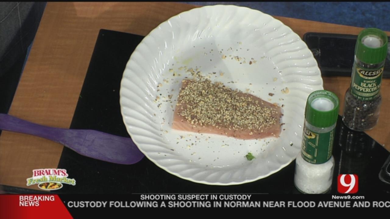 Chimichurri Salmon