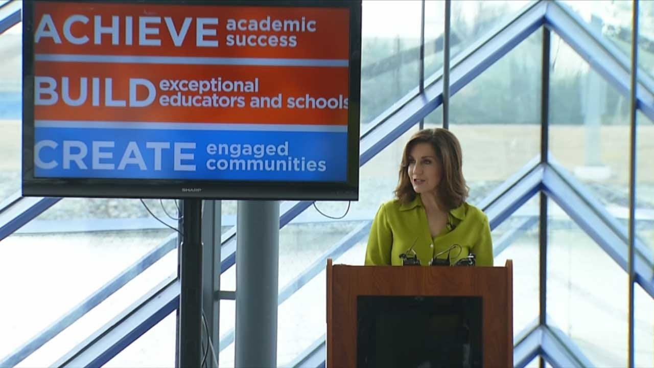 Governor, School Leaders Discuss State Of Education In Oklahoma