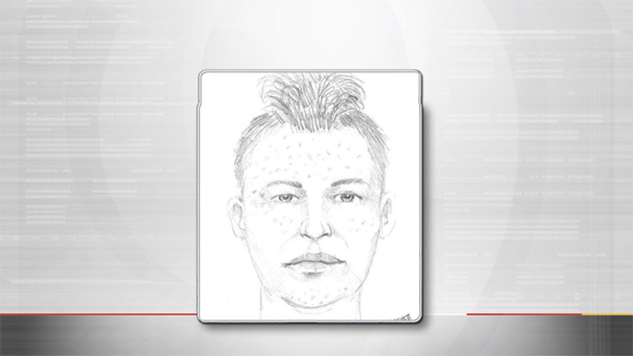 Canadian Co. Sheriff's Office Releases Sketch Of Rape Suspect