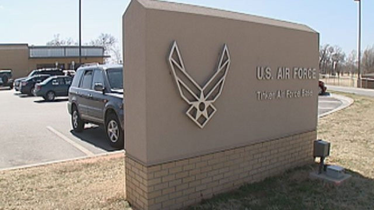 Lockdown Lifted At Tinker Air Force Base