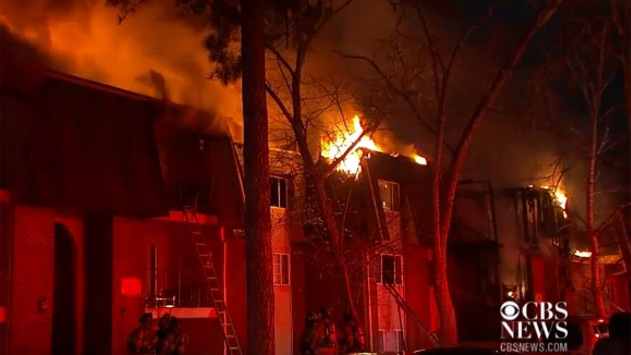 Apartment Fire Forces Residents To Drop Babies From Burning Building