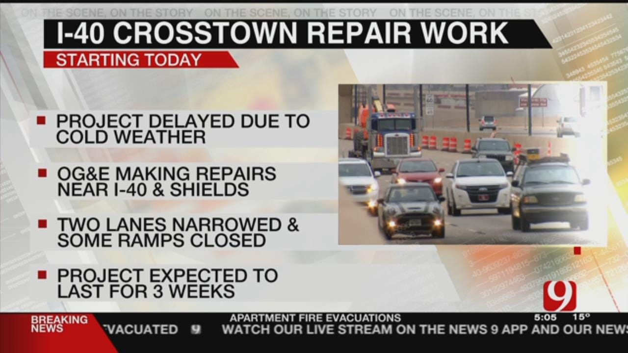 Construction To Begin Wednesday After Below-Freezing Temperatures Delay