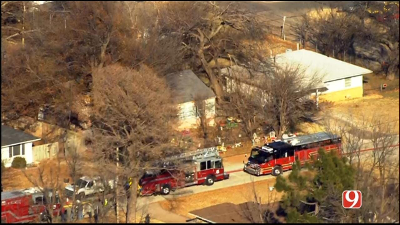 Crews Douse Bethany House Fire