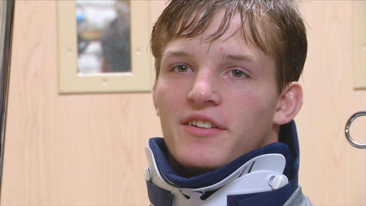 Cushing Wrestler Severely Injured, On The Road To Recovery