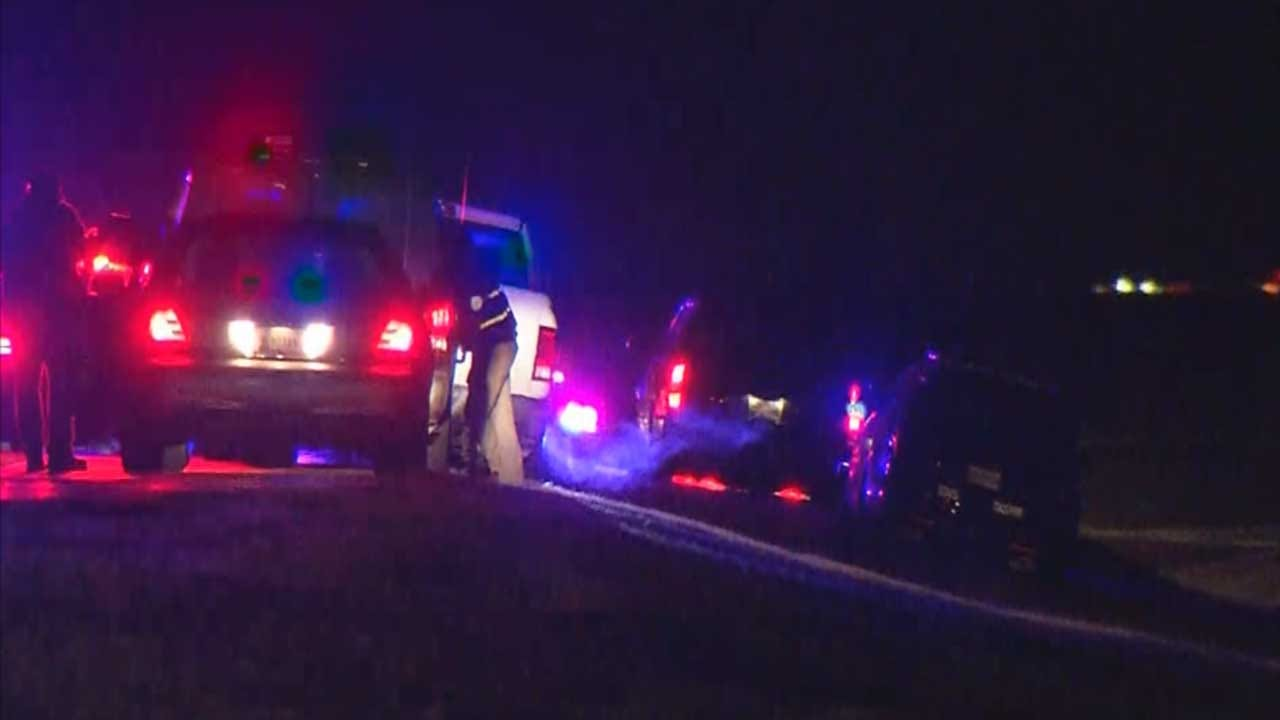 Law Enforcement Investigating Officer-Involved Shooting On I-40