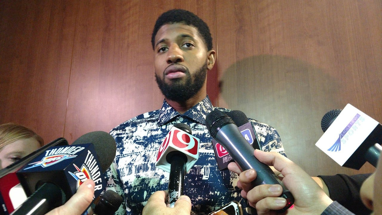 Paul George: If Thunder Builds Something Special, I'd Be Stupid To Leave