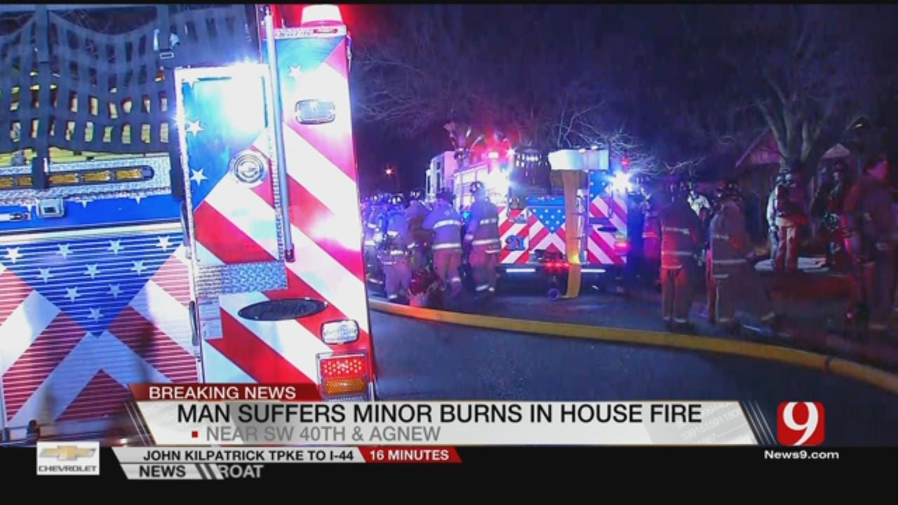 Firefighters Battle 2 House Fires Early Friday In SW OKC