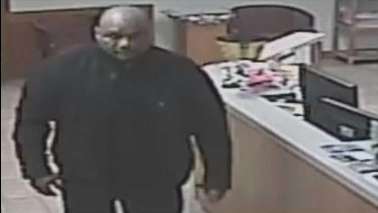 Surveillance Video Captures Man Breaking Into MWC Church