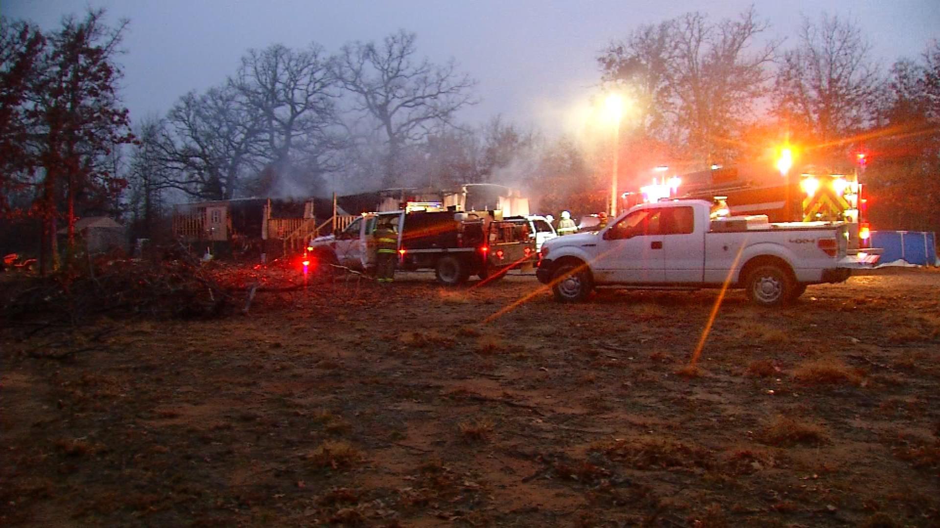 Woman Dies In House Fire Near Tecumseh