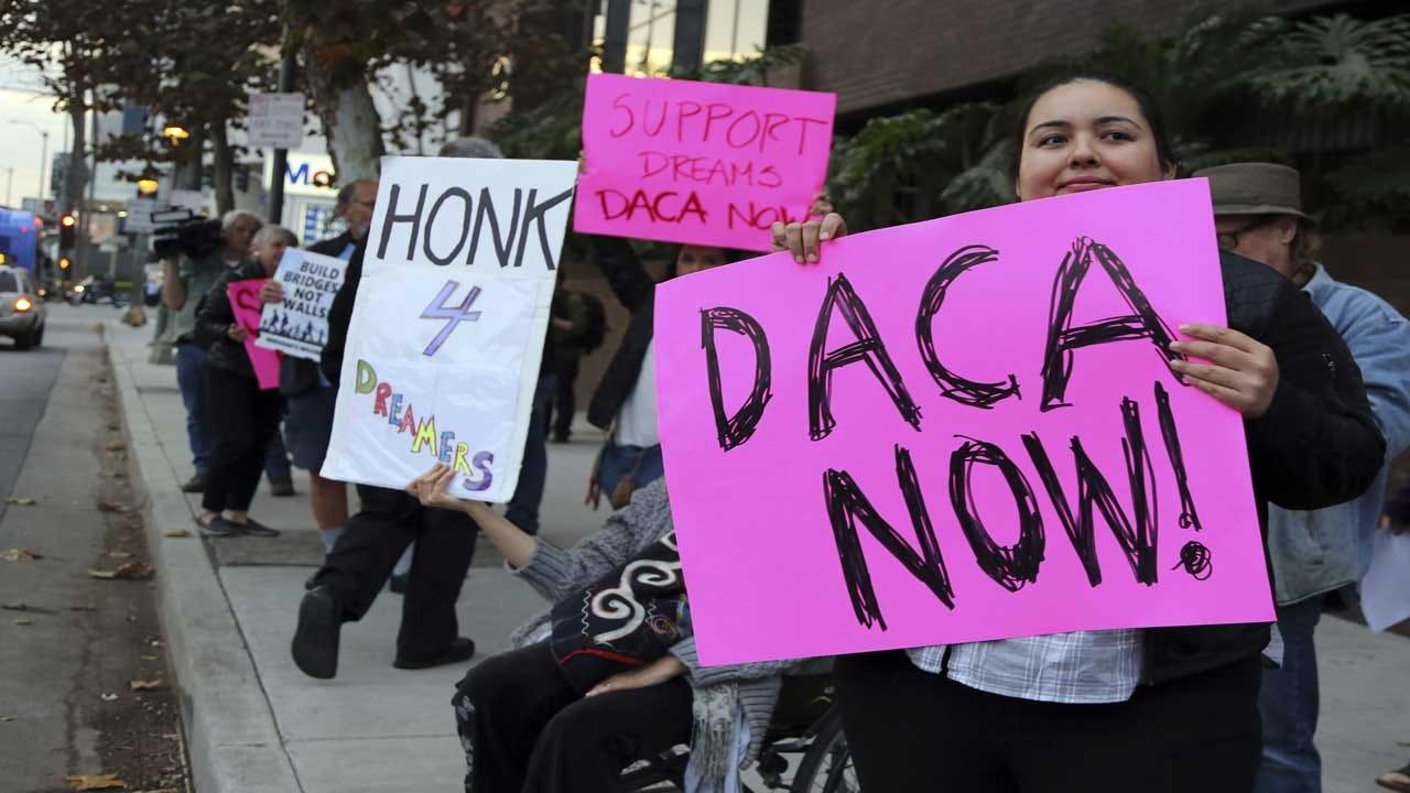 Judge Temporarily Blocks Trump Decision To End DACA