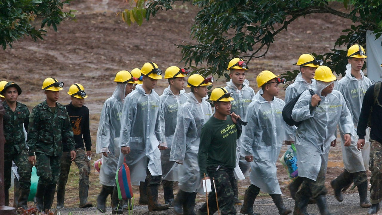 Entire Boys' Soccer Team And Coach Rescued From Thai Cave