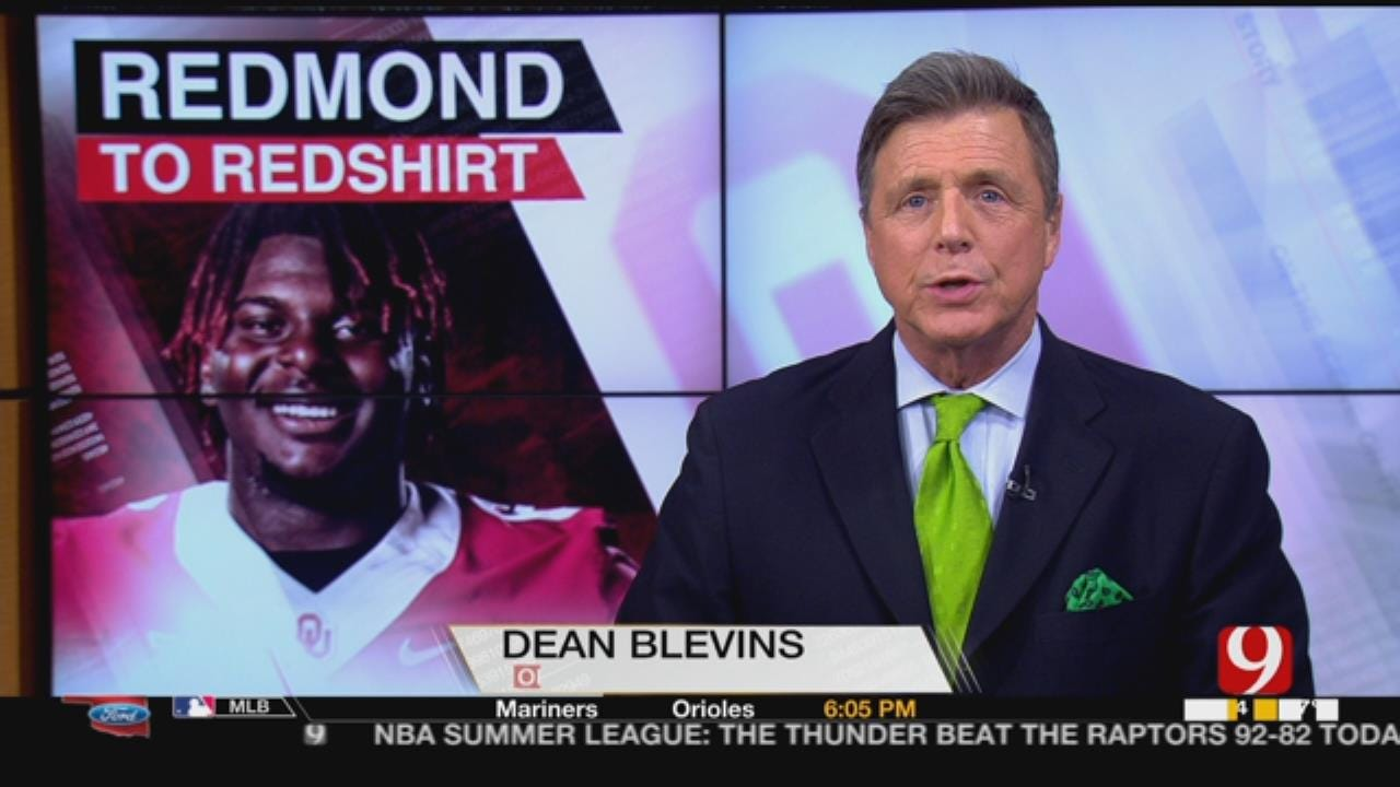 Sooners' DE Redmond Expected To Miss Season