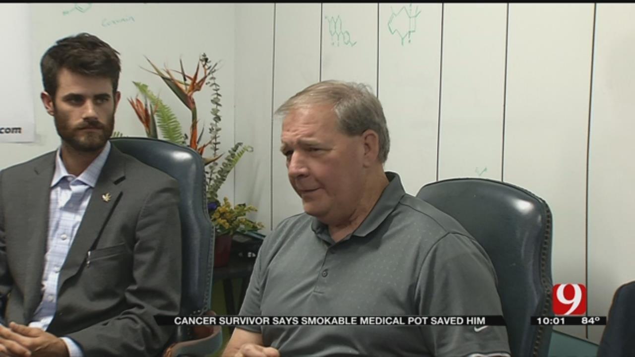 Cancer Survivor Says Smokable Medical Marijuana Saved Him