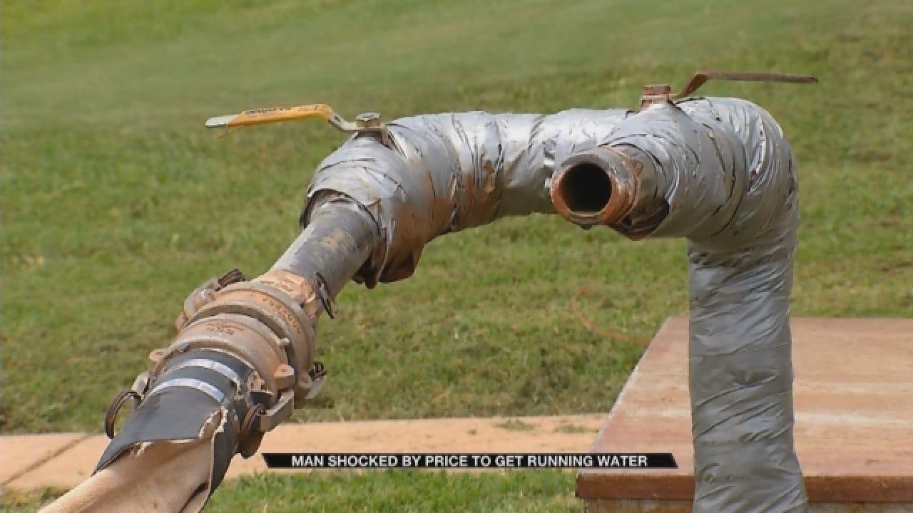 Man Shocked By Price To Get Running Water In Deer Creek