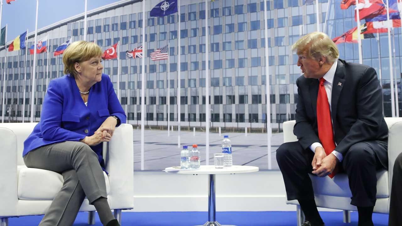 Trump Kicks Off NATO Summit With Jab At Germany