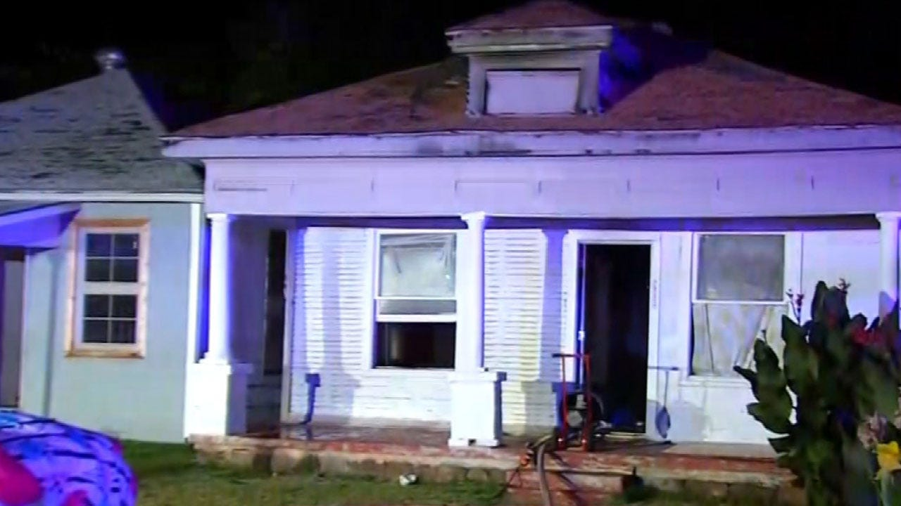 Passerby Alerts Occupant Of House Fire In SW OKC