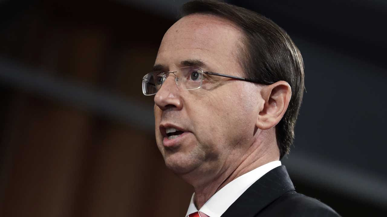 AP Source Says Rosenstein Expecting To Be Fired