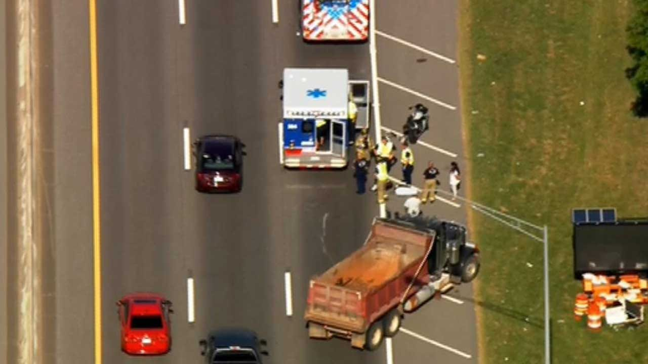 Injury Crash Reported Along EB I-240 In SW OKC
