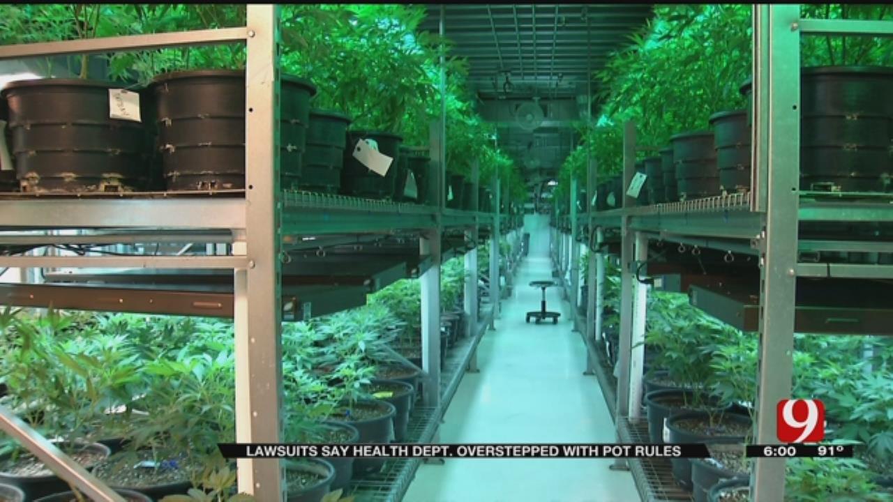 Lawsuits Criticize Department Of Health Medical Marijuana Rules