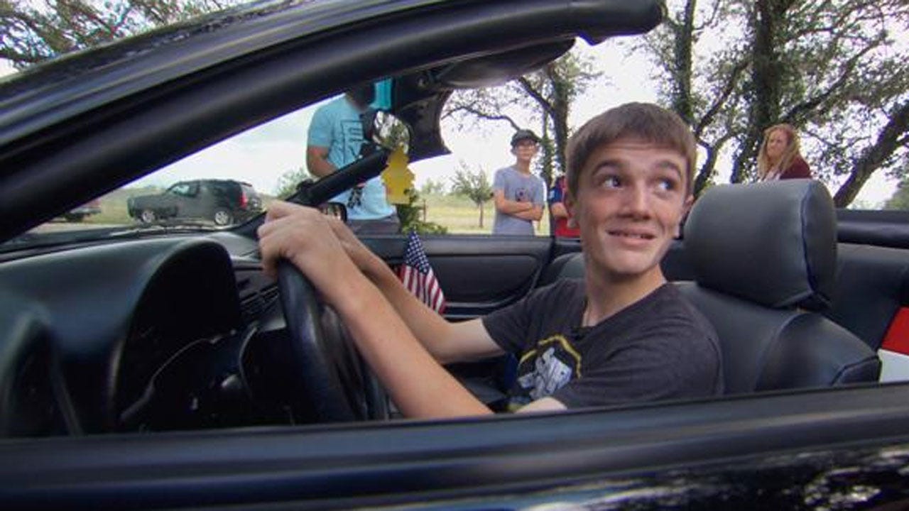 Son Of Fallen Soldier Wants Father's Car For His 15th Birthday