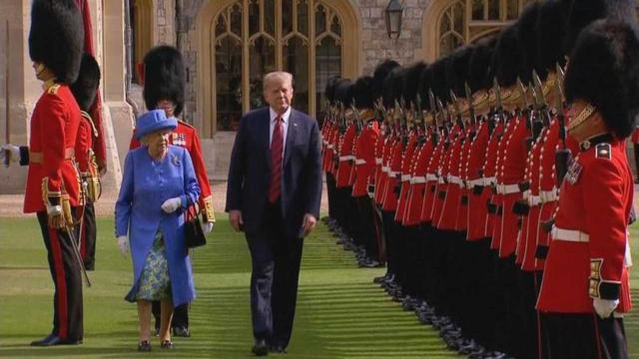 Some Of Queen Elizabeth's Most Memorable Encounters With U.S. Presidents