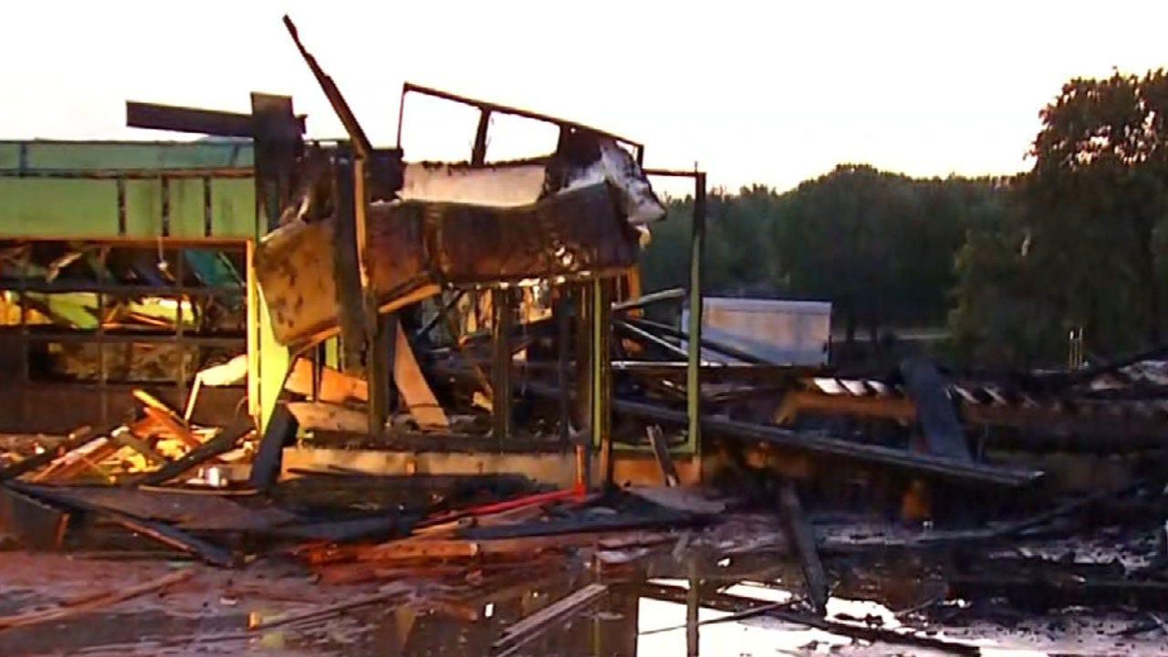Crews Battle Fire At Home Under Construction In Jones