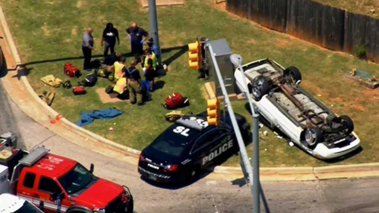 Crews Respond To Multi-Vehicle Accident In NW OKC