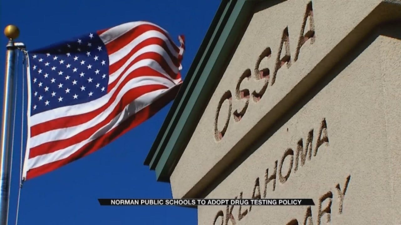 Norman Public Schools To Adopt New Drug Testing Policy