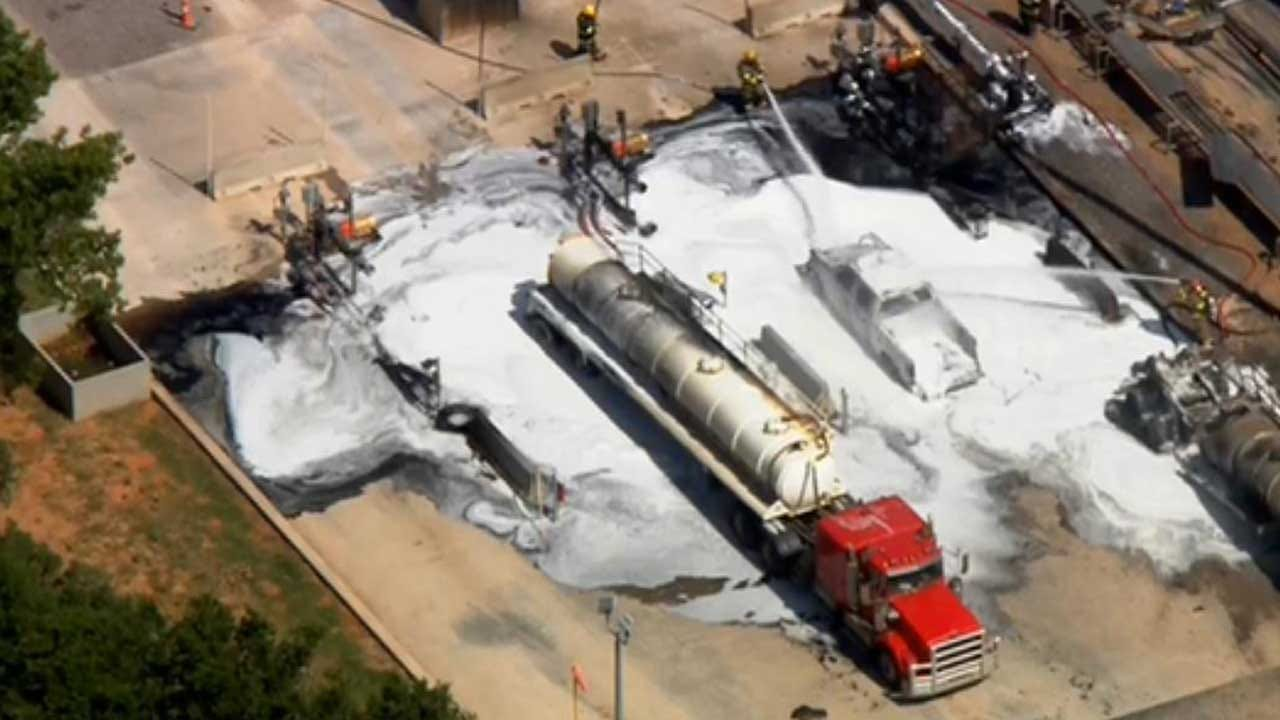 3 Injured In Kingfisher Co. Explosion At Saltwater Disposal Well