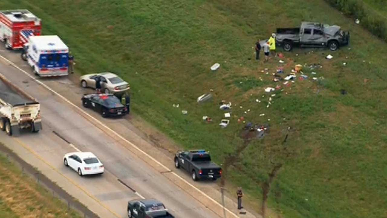 Fatality Crash Reported On I-240 In SE OKC