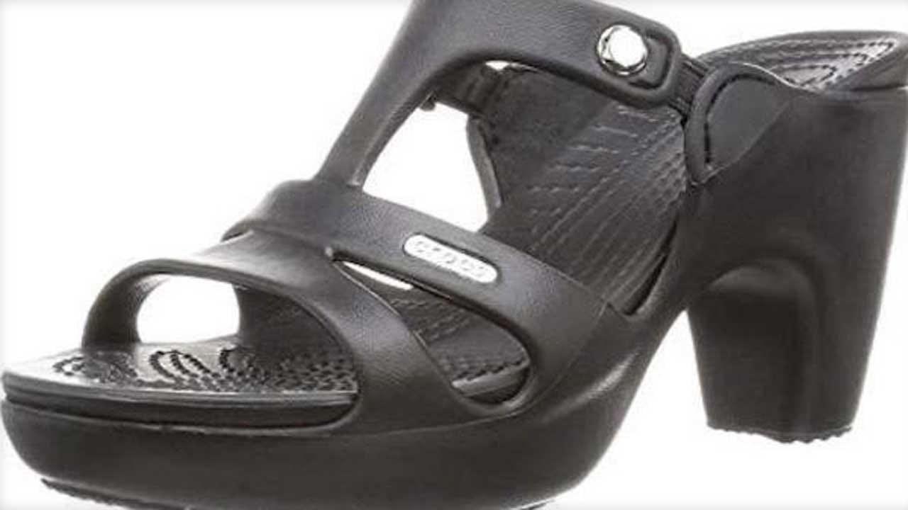 High-Heel Crocs Shoes Are Selling Out, Prompting Questions Of Why