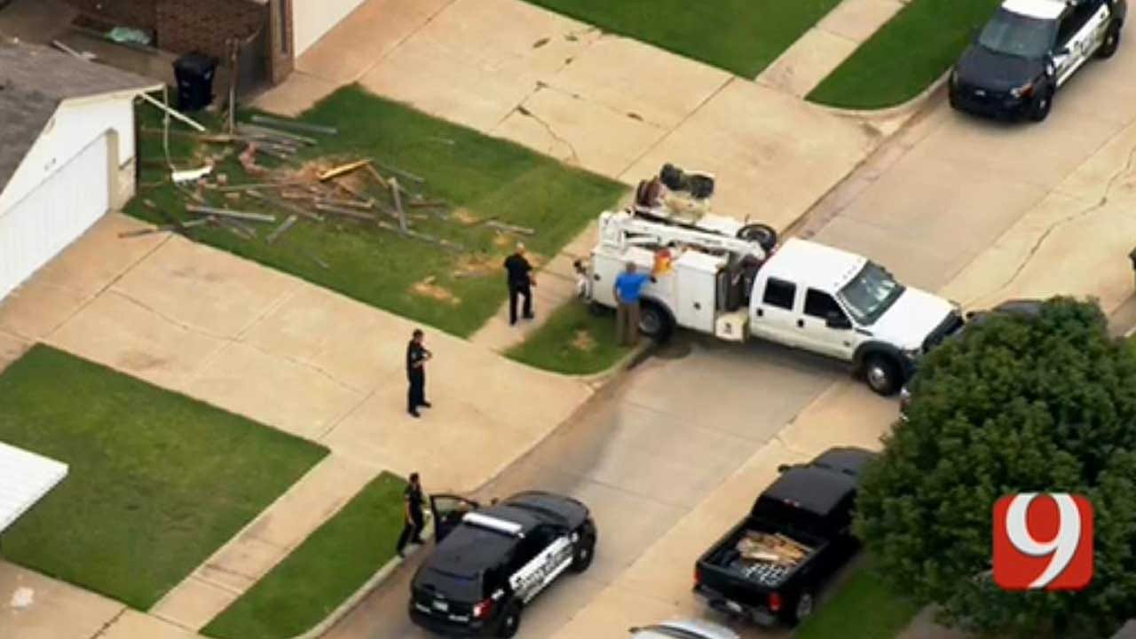 Moore Police Chase Ends In A Crash