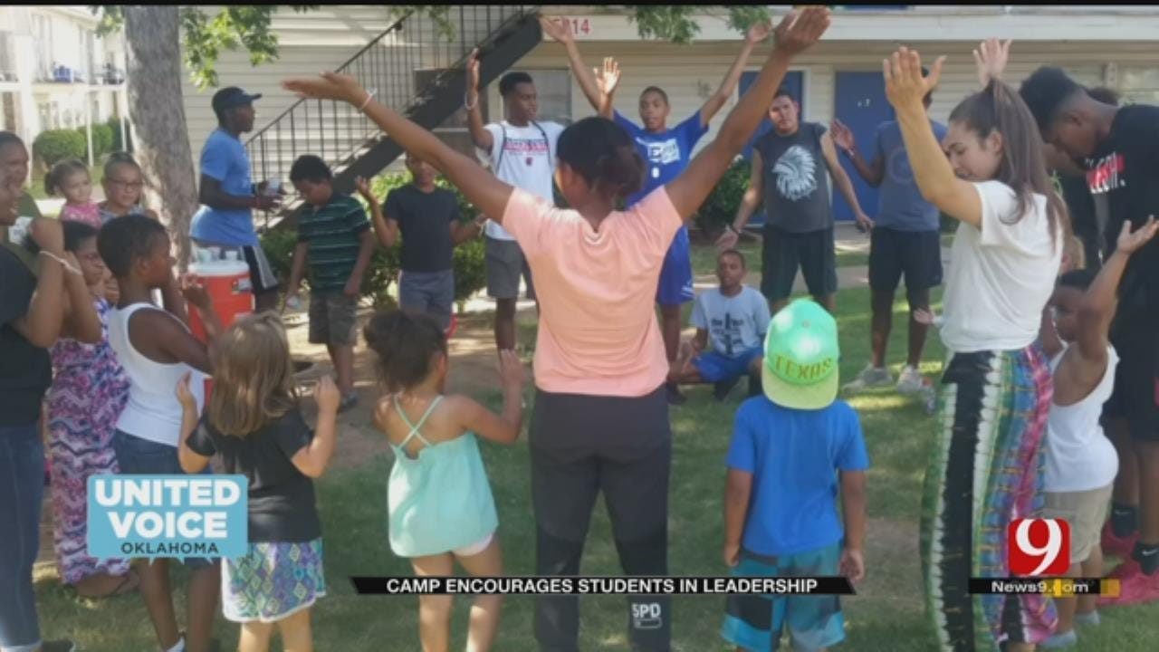 United Voice: Camp Aims To Uplift Next Generation Of Leaders