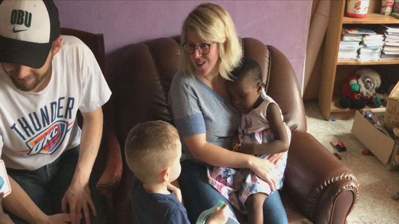 Oklahoma Couple Among First To Adopt From Nigeria