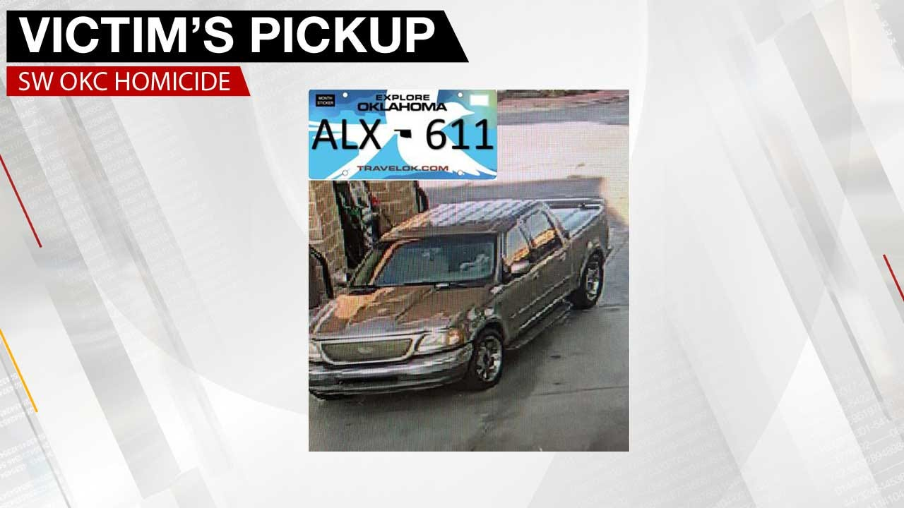 Police Search For SW OKC Homicide Victim's Pickup