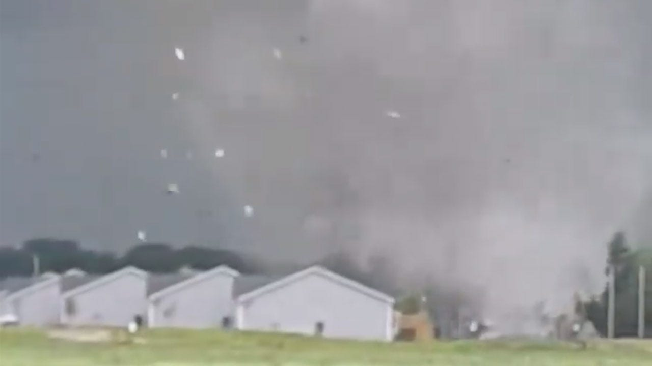 Tornadoes Strike Parts Of Iowa, Injuring Several, Leaving Path Of Destruction