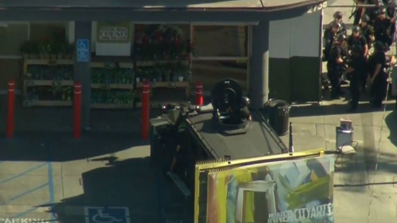 LAPD: Trader Joe's Suspected Gunman In Custody, Hours After Taking Hostages