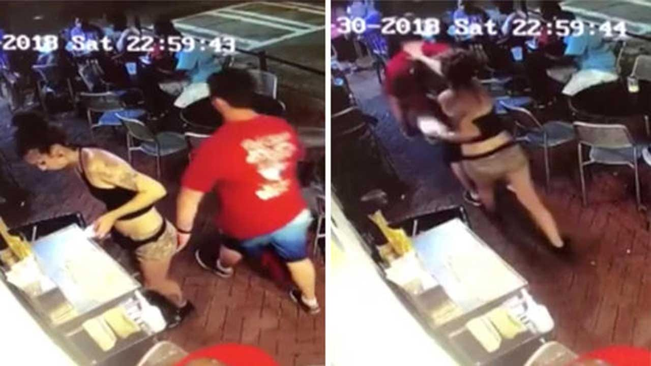 Video Shows Waitress Body-Slam Man Who Groped Her